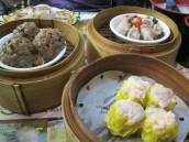 Sui mai, meatballs and pork ribs