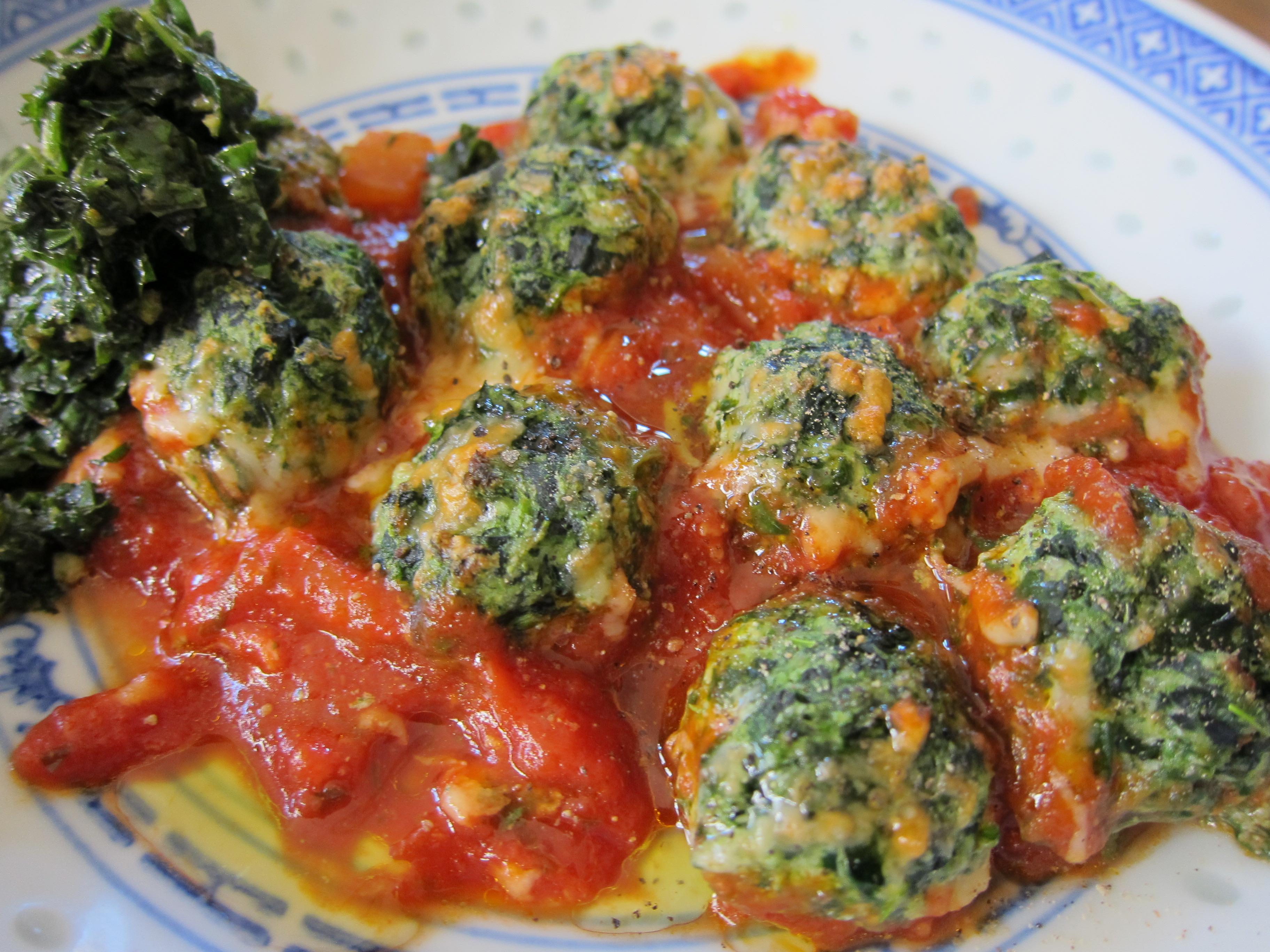 Spinach Ricotta Gnocchi Recipe — Dishmaps