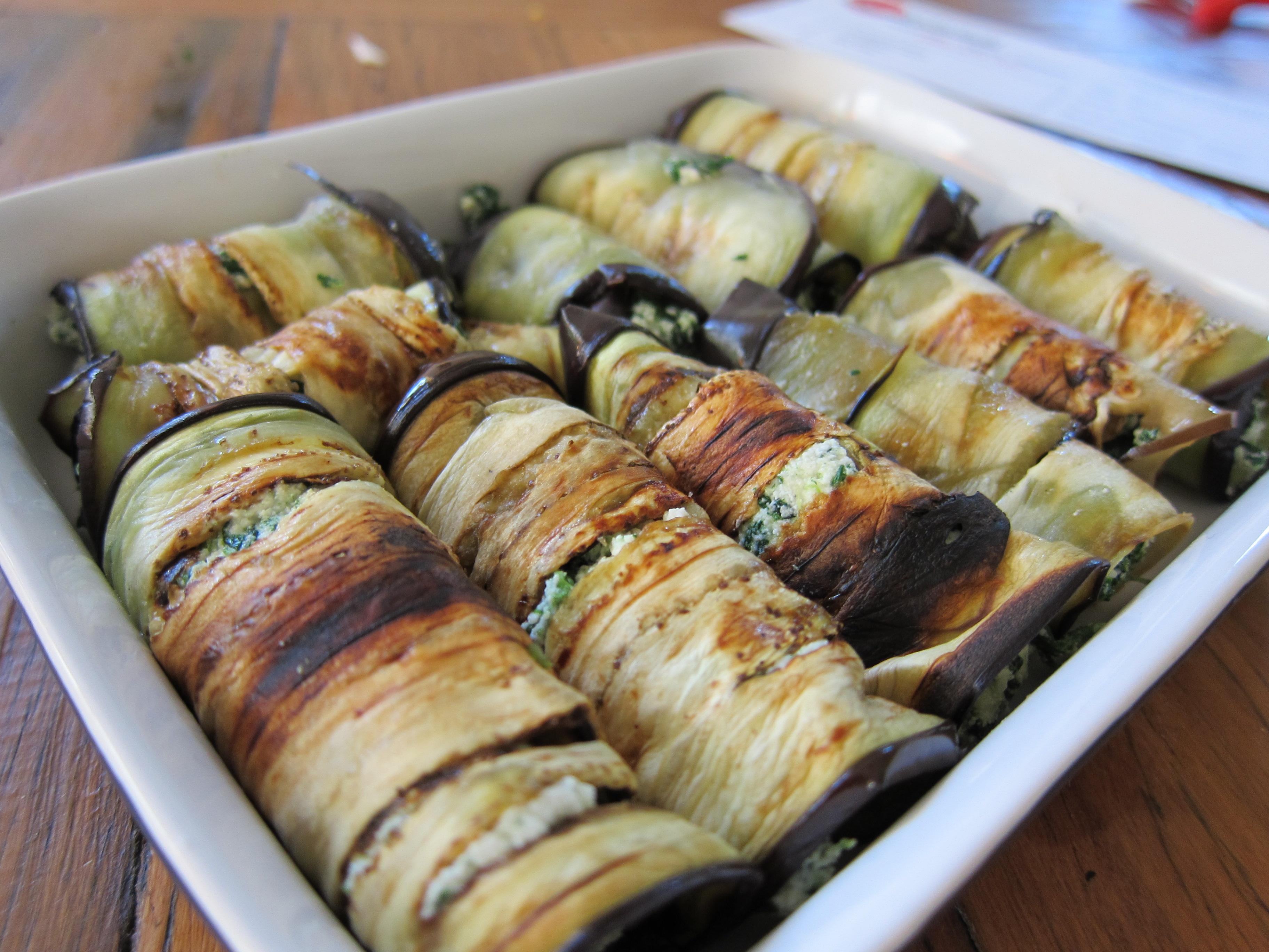 Eggplant cannelloni recipe « Scoff & Quaff