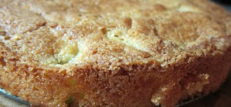 The world's best and easiest apple teacake