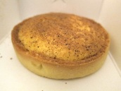 Amazing custard tart at Strawberry Fields Patisserie