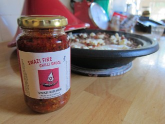 Swazi fire chilli sauce from Oxfam