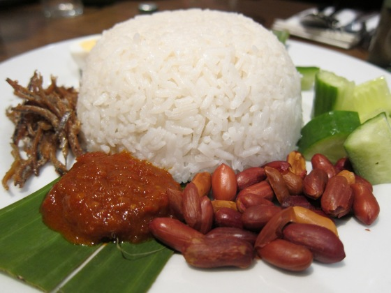 Nasi lemak at Mamak, Chinatown