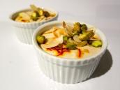 Gujarati Shrikhand - spiced yoghurt dessert