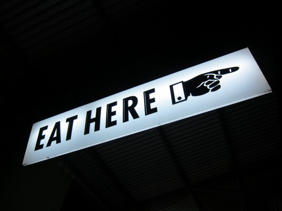 Eathouse Diner sign