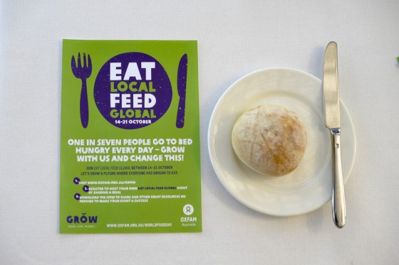 Oxfam Eat Local, Feed Globa