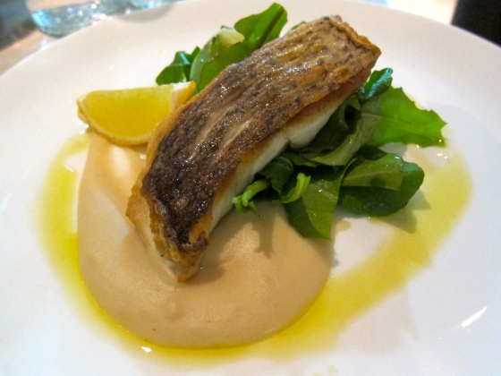 Line-caught fish with white bean puree $29